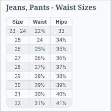 Miss Me Jean Size Chart 34 Reasonable Rerock Jeans Size Chart