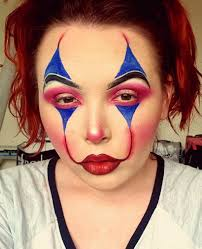 fabulous clown makeup done within 15 minutes