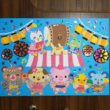 メルカリ 特大サイズ 大きい壁面飾り 夏祭りで盛り上がろう 幼稚園