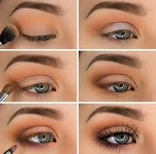 simple and beautiful eye makeup shadows ideas for blue eyes