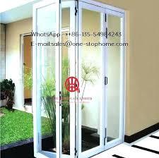 australian standards home economic aluminium balcony folding glass folding glass door folding glass patio doors