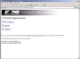 Norac Signal Chart Signal Tests