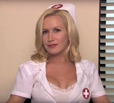 Angela Kinsey as a nurse in The fice Imgur