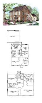 saltbox house plans. Saltbox House Plan 64402   Total Living Area: 2370 Sq. Ft., 5 Plans P
