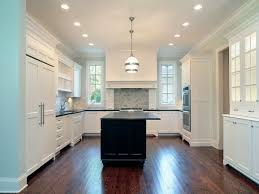 White Kitchen Cabinets With Black Granite Countertop Ideas