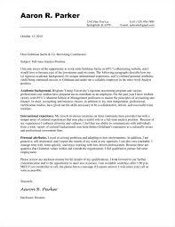 Cover Letter For Goldman Sachs Internship 69 Infantry