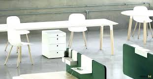 long white desk desks in beech oak with drawers black on one side w