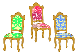chairs clipart. Perfect Chairs 3 Decorative Chairs Throughout Clipart Openclipart