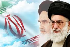 Image result for پرتره از مقام معظم رهبری و امام خمینی(ره)