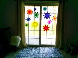 Weihnachtsdeko Für Fenster Bunte Sterne Aus