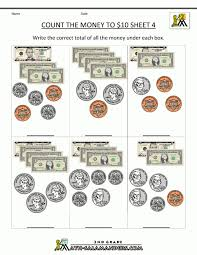 Kids : Money Lessons Teach Worksheets Counting Count The Coins ...