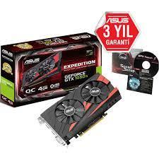 Asus GeForce GTX1050 Ti 4 GB Ekran Kartı Fiyatı - Vatan Bilgisayar