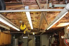 lighting a basement. Lighting Tips For Your Basement Workshop A