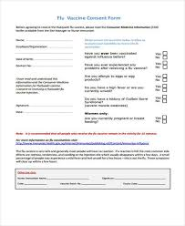 Vaccine Consent Form Template