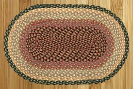 details about oval and round jute area rugs by earth rugs burdy gray creme many sizes
