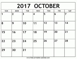 october 2017 calendar template monthly calendar pictures