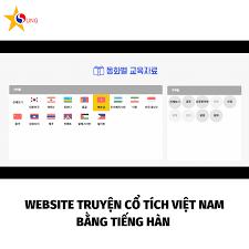WEBSITE TRUYỆN CỔ TÍCH VIỆT NAM BẰNG TIẾNG HÀN - Tư Vấn Du Học Hàn Quốc  Asung