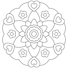 Small Picture Mandala Coloring Pages Printable Amazing Coloring Mandala Coloring