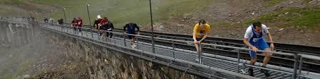 Im östlichsten teil der welt hat 2021 bereits begonnen: Niesenbahn Der Niesen 2362 Meter