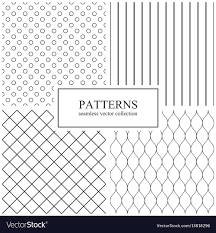 Simple Geometric Designs Collection Of Simple Seamless Geometric Patterns