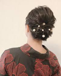Moriyama Mamiさんのヘアスタイル 先日のミディアムヘアの方のアッ