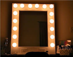 lighted wall mirror. lighted wall mirror type o