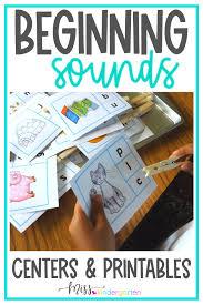 Worksheets, lesson plans, activities, etc. Beginning Sounds Activities Miss Kindergarten