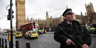 you shouldn t blame islam for terrorism religion isn t a crucial  london england 22 an armed police officer stands guard near westminster bridge