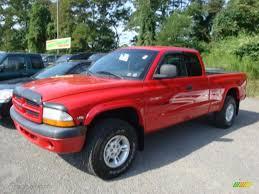2000 Flame Red Dodge Dakota Sport Extended Cab 4x4 #34392290 Photo ...