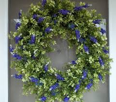 spring front door wreathsBeautiful Front Door Wreaths