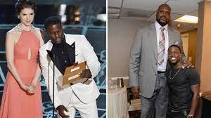 Kevin Hart Standing Next to Tall People ...