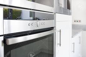 photo kitchen oven modern modern electric kitchen oven in a modern unit