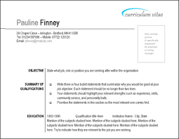 Resume Outlay Dtk Templates