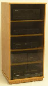 stereo cabinet with glass doors of small black oak tv stand gray tint entertainment