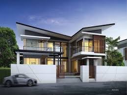 Ester  Four Bedroom Two Story Modern House Design  Pinoy EPlansTwo Storey Modern House Designs