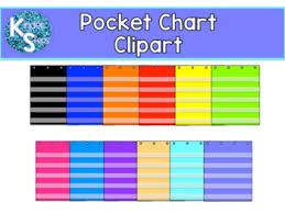 Teacher Pocket Chart Pocket Chart Clipart