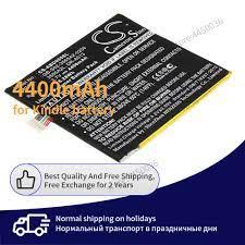 Pin Dành Cho Máy Đọc Sách Amazon Kindle D01400 4400mAh Pin Gốc Pin Thay Thế  Kindle Fire D01400 Pin máy tính bảng & nguồn điện dự phòng
