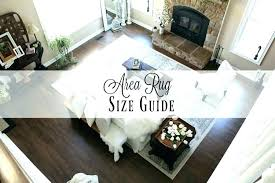 how to pick area rug size how to choose a rug for living room area size