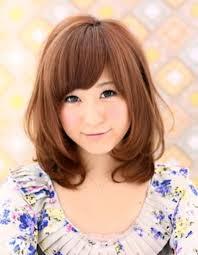小顔内巻きパーマミディアム髪型ke 63 ヘアカタログ髪型ヘア