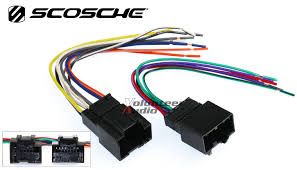 chevy aveo car stereo cd player wiring harness wire aftermarket click thumbnails to enlarge the scosche gm18b standard car stereo wiring harness