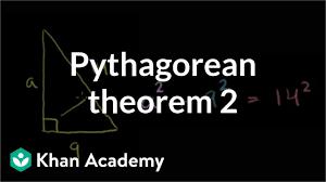 Pythagorean Theorem Example Video Khan Academy
