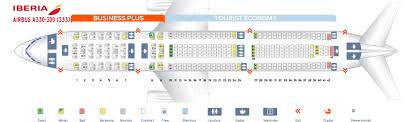 Seat Map Airbus A330 300 Iberia Best Seats In The Plane