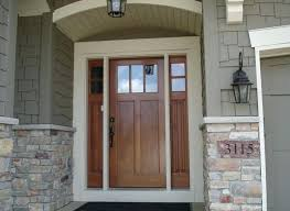 residential front doors craftsman. Double Craftsman Entry Door With Sidelights Lite French Front Doors . Residential