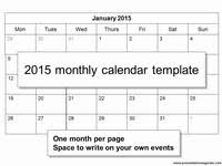 2015 monthly calendar free 2014 monthly calendar template