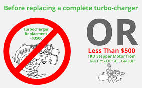 The Best (And Cheaper) Solution To Toyota 1KD Turbocharger Stepper ...