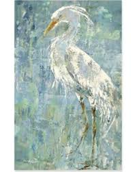 white heron canvas wall art blue on blue and white canvas wall art with here s a great price on white heron canvas wall art blue