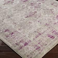 purple and gray area rug bungalow rose anil purple gray area rug wayfair