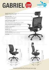 office chair comfortable. Comfortable Office Chair Beautiful Gabriel Midback Fice A