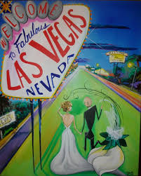 vegas baby custom canvas painting please call for