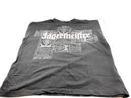 Label Print Design Jagermeister Bottle Label Print Design Mens T Shirt